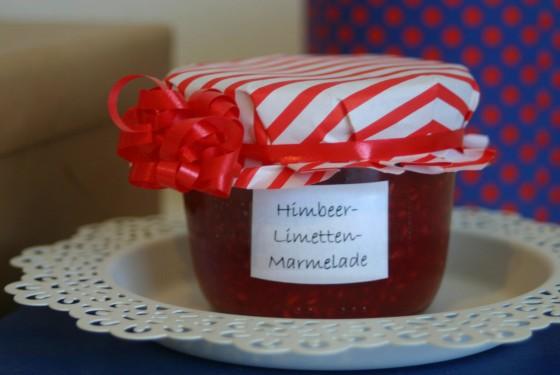 Himbeer-Limetten-Marmelade