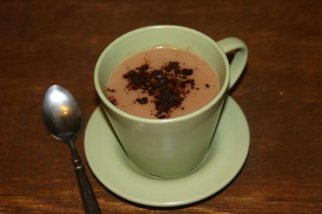 Schokoladige Mandelmilch