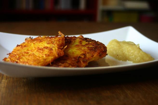 Kürbis-Kartoffel-Puffer