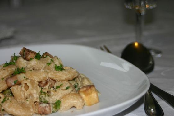Vegane Carbonara