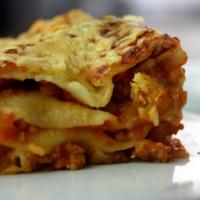 Vegetarische Bolognese-Lasagne