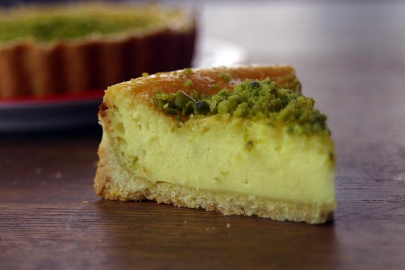 Kuchen mit seidentofu