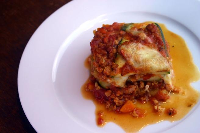 Zucchini-Lasagne (Low Carb) (2)