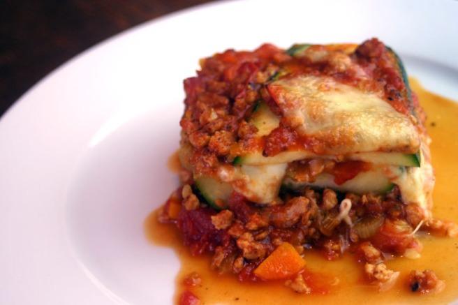 Zucchini-Lasagne (Low Carb)