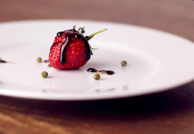 Balsamico Erdbeeren