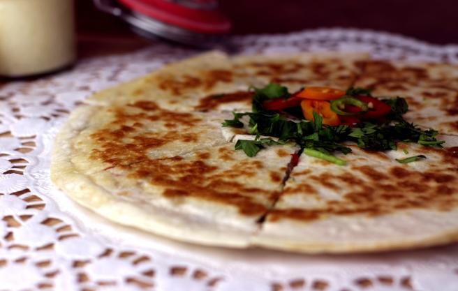 Quesadilla mit Ananasdip (5)