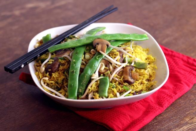 vegetarisch Nasi Goreng