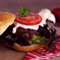 Veggie Pilzburger
