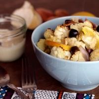 Küchenexperiment: Gegrillter Blumenkohl mit Tahini (nach Vegan Oriental)