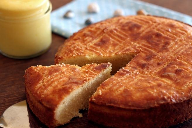 Gateau Breton Lemon Curd