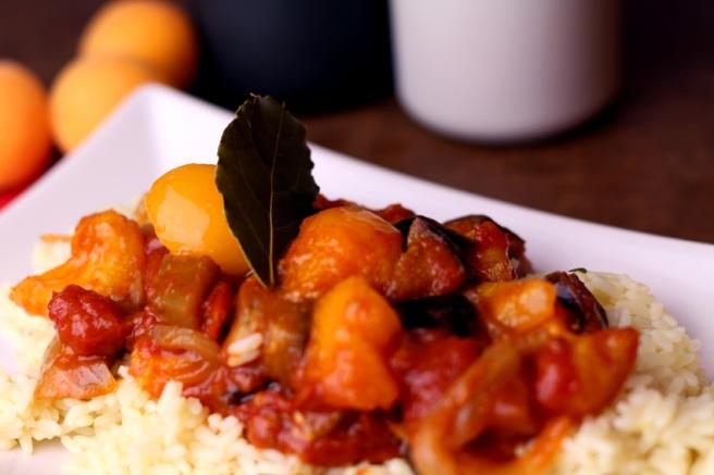 Orientalische Aprikosen-Tomaten-Soße (9)