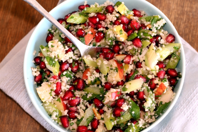 Taboule Tabouleh Salat Granatapfel Rezept