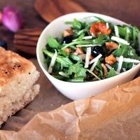 Pfifferlingsalat mit Blaubeeren