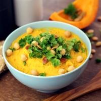 Vom kleinen Glück: Kürbis-Hummus