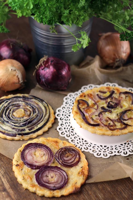 schneller Zwiebelkuchen vegetarisch