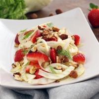 Erdbeer-Fenchel-Salat