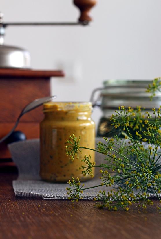 Dill-Senf selber machen Rezept